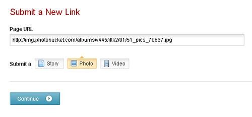 Mixx: Submit a Photo URL