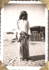 Kuwaitis Bedouin...Persian Gulf Region; about 1950