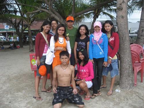 School kids from Java