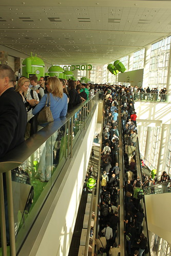 Google IO packed with people