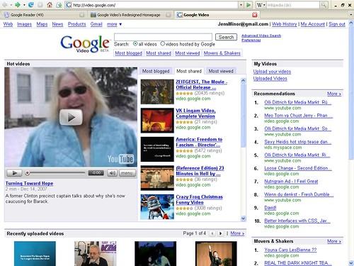 Google Video Design