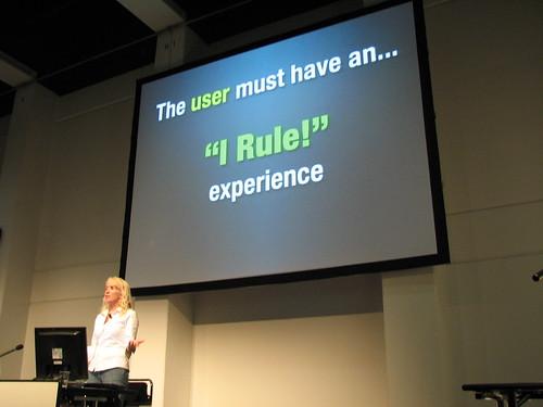 Web 2.0 Expo, Kathy Sierra 22