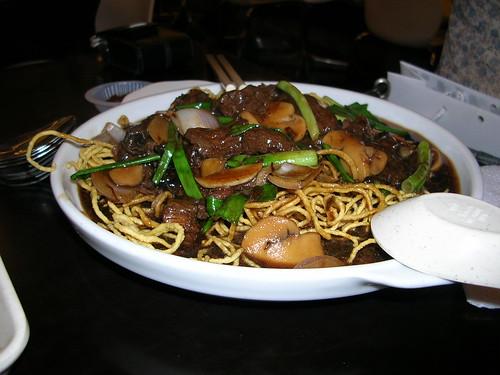crispy noodles