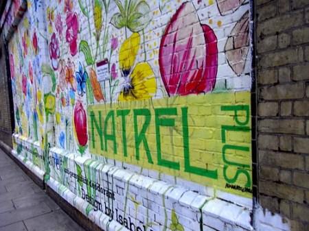 Painted Streetvertising