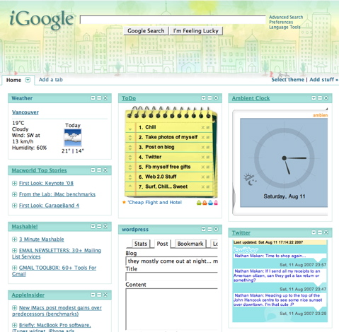 mostly-igoogle