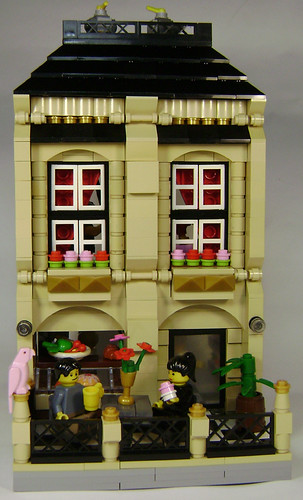 LEGO cafe building