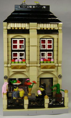 LEGO cafe building