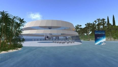 Home, a film by Yann Arthus-Bertrand in Second Life (Île Verte / Green Islan) Les Humains Associés (The Associated Humans)