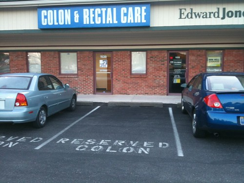 Reserved Colon Parking