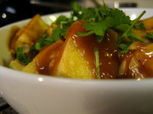 rice bowl with tofu