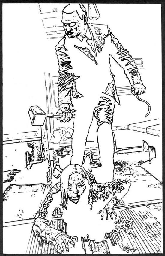 richard-serrrao-midnight-meat-train-pen-and-ink-1