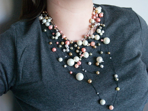 Pearl Constellation necklace
