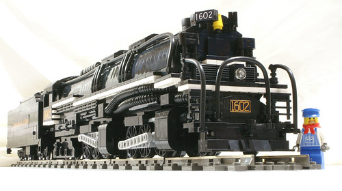 LEGO steam engine