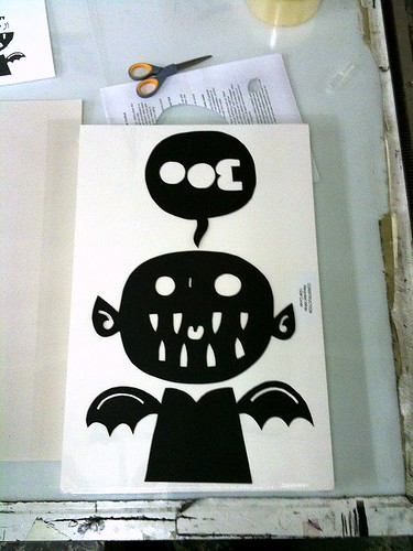 screenprinting class week 2: the stencil