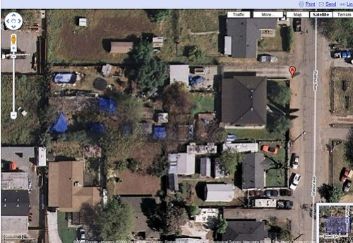Phillip Garrido's back yard