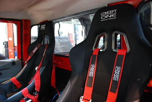 Team Land Rover Philippines Concept One Seats