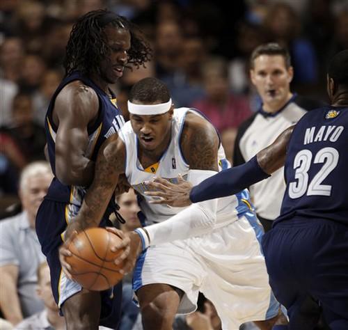 Carmelo Anthony anota 42 puntos.