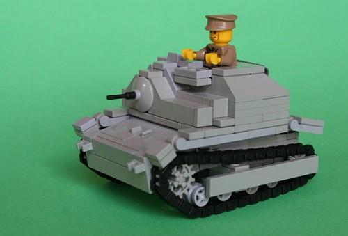 LEGO Polish tankette TKS