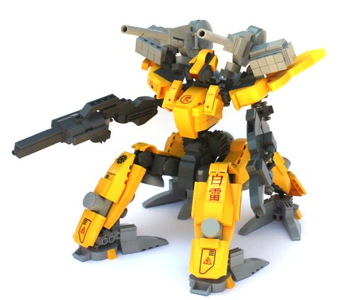 LEGO armored core mecha