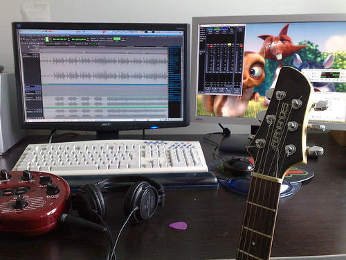Linux home recording studio