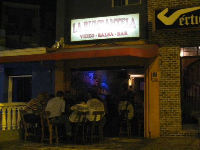 In 2009, I spent my last night in Medellin dancing with friends at La Rumbantela, a small salsa bar on Calle 33.