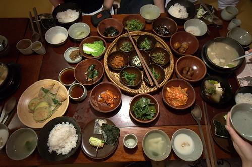 Dinner, Sanchon