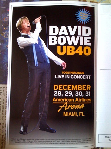 Bowie-UB40 ad