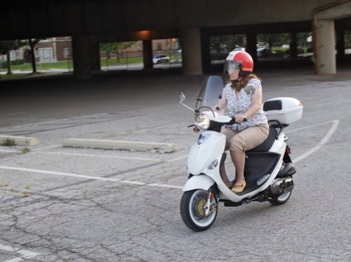 Scooter Riding