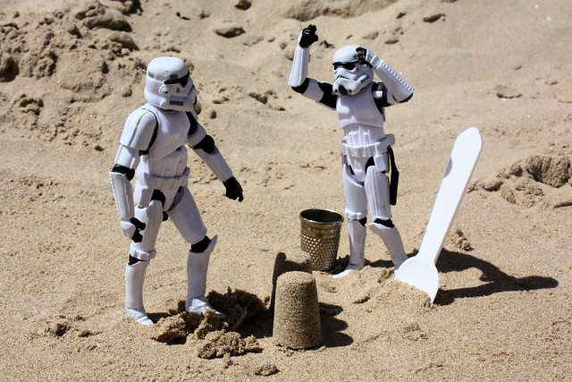 Destruction is the way of the Stormtrooper