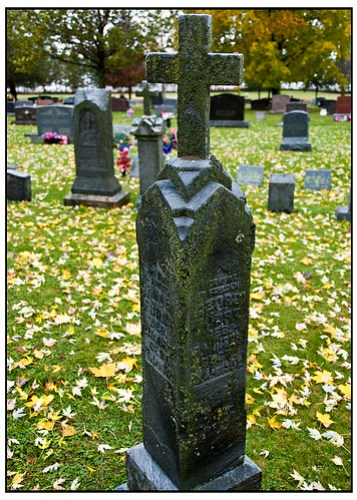Gravestone - St Sebastian Parish Isaar WI
