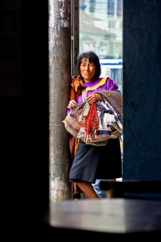 Amazonia Shipibo Vendor