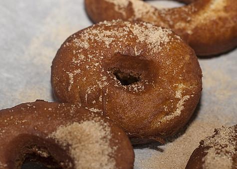 Apple Cider Doughnuts
