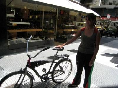 Ciclista Portenha