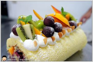 [西點烘焙]卡迪亞鮮果蛋糕
