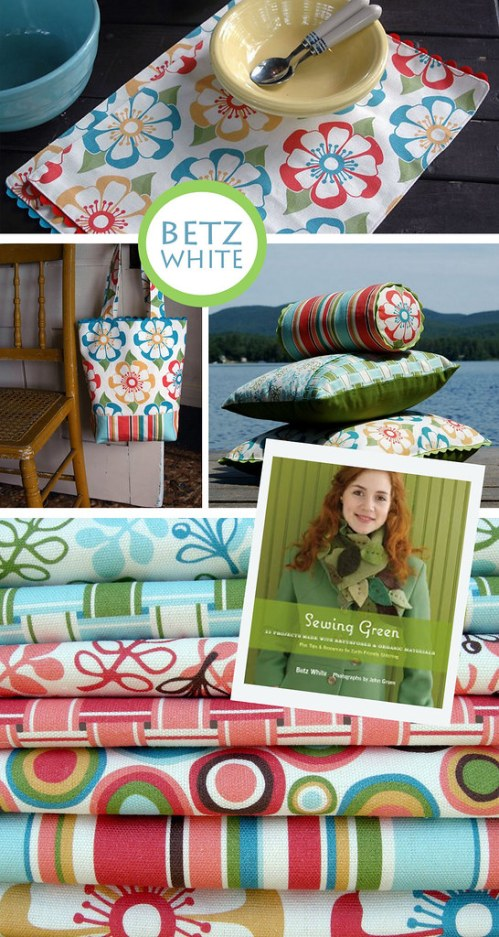 Betz White: New Organic Fabric!