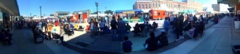 Pano of the Rice Festival in Crowley LA!