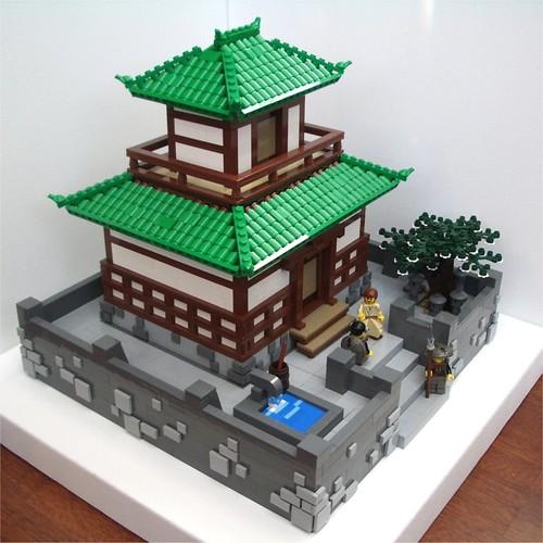LEGO samurai general's pavilion