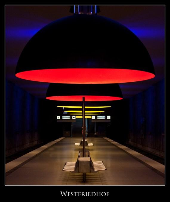 Westfriedhof subway