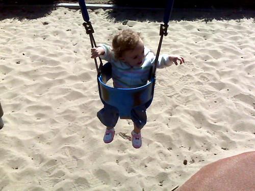 Swings are so fun