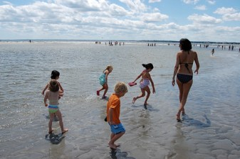 A Day at the Beach with Kids