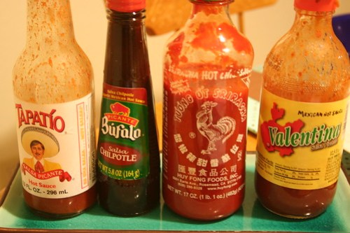 Some of my favorite hot sauces