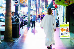 Jesus on Hollywood Blvd