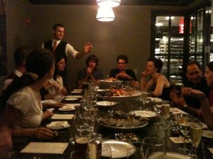 rypple dinner at DBGB by @MSG.