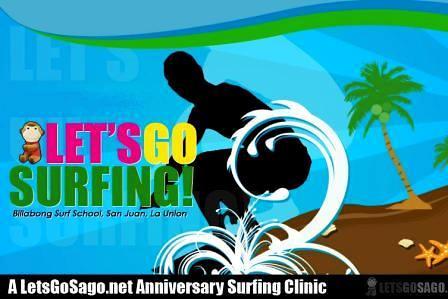 Lets Go Surfing @ La Union on Aug 15-16, 2009