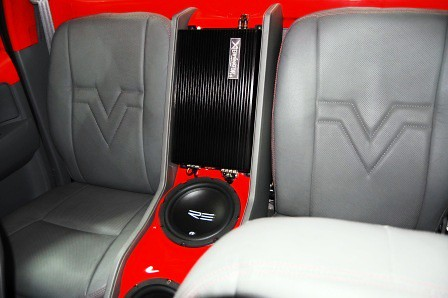Toyota Hilux by Mickey's Autosound Rear Passenger Seat