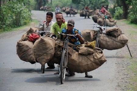 Bis zu 600 KG wiegt die Fahrradladung