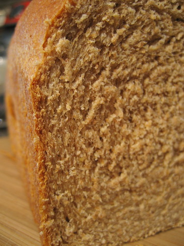 honey whole wheat sandwich bread