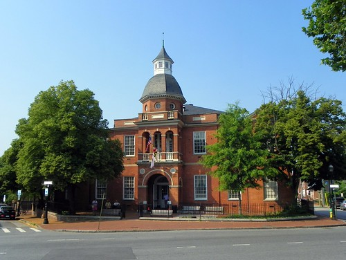Anne Arundel County Courthouse, Annapolis, Mar...