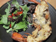 lobster thermidor - service!