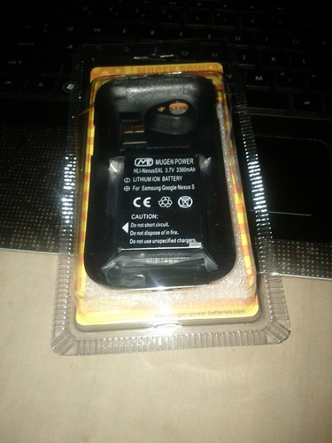 My 3300mAh battery by @MugenBatteries is here